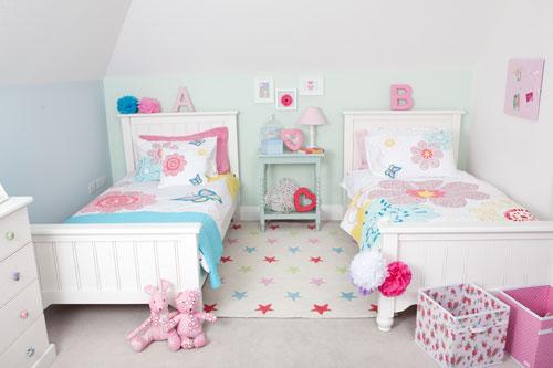 Детские комнаты для двух девочек 2