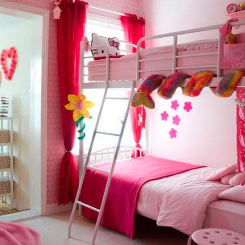 Детские комнаты для двух девочек 3