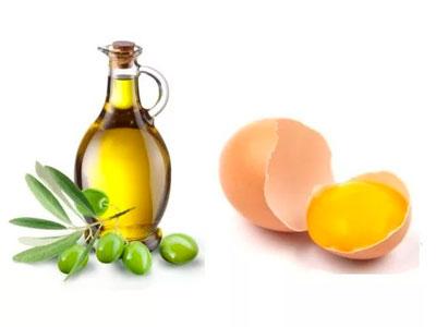 Рецепт маски для лица: желток и оливковое масло