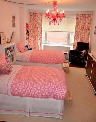 Детские комнаты для двух девочек 4