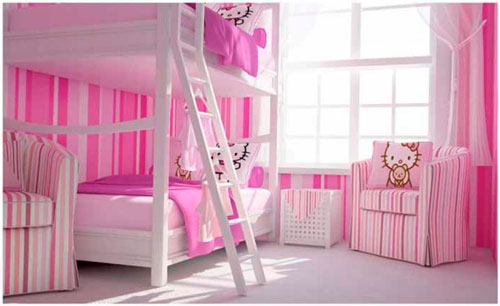 комната для двух девочек фото 7