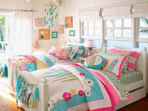 Детские комнаты для двух девочек 8