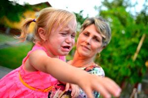 психологические причины детской истерики