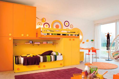 оранжевая детская 3