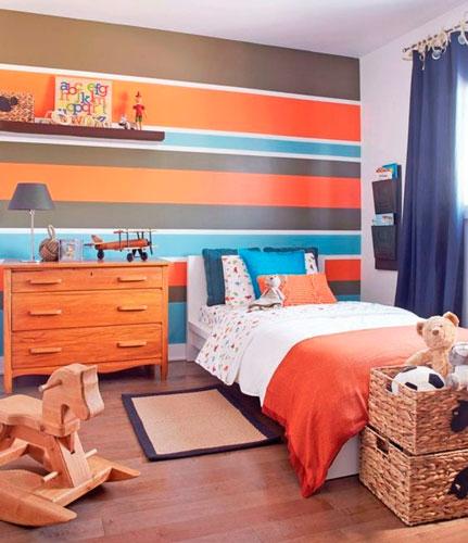 оранжевая комната подростка 3
