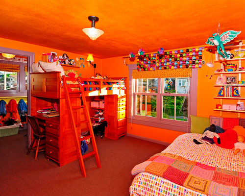оранжевая детская 6