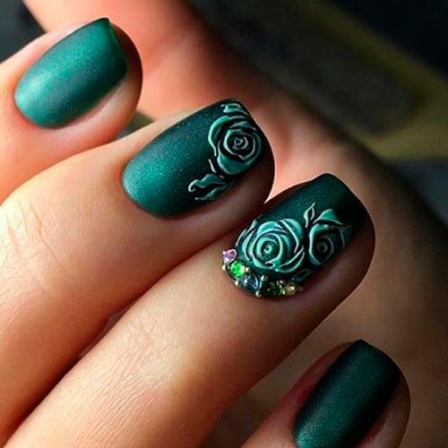 Матовое зеленое покрытие 3