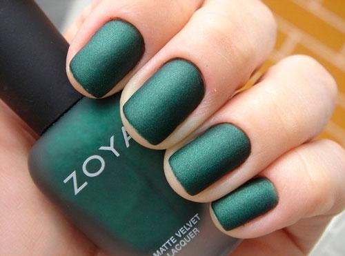 Матовое зеленое покрытие 4