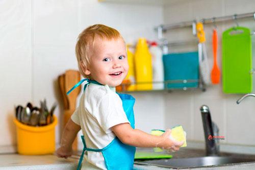 Как приучить ребенка к порядку 3