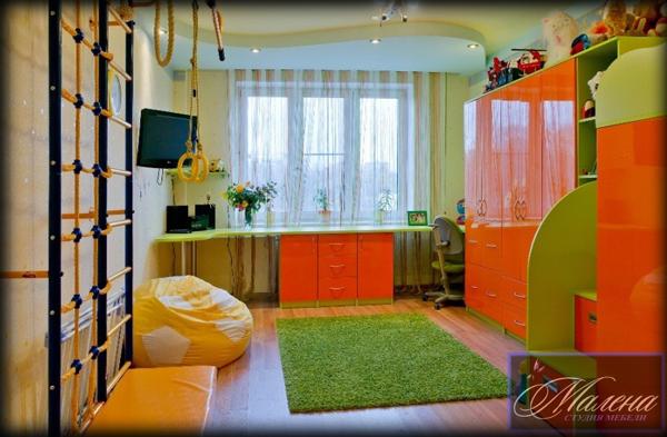 дизайн комнаты для двух мальчиков 6