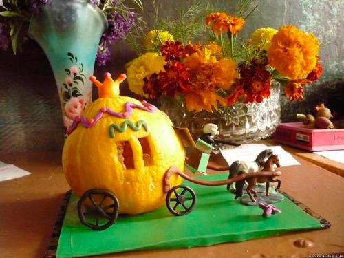 поделки из овощей для детского сада и школы на осенний конкурс 6