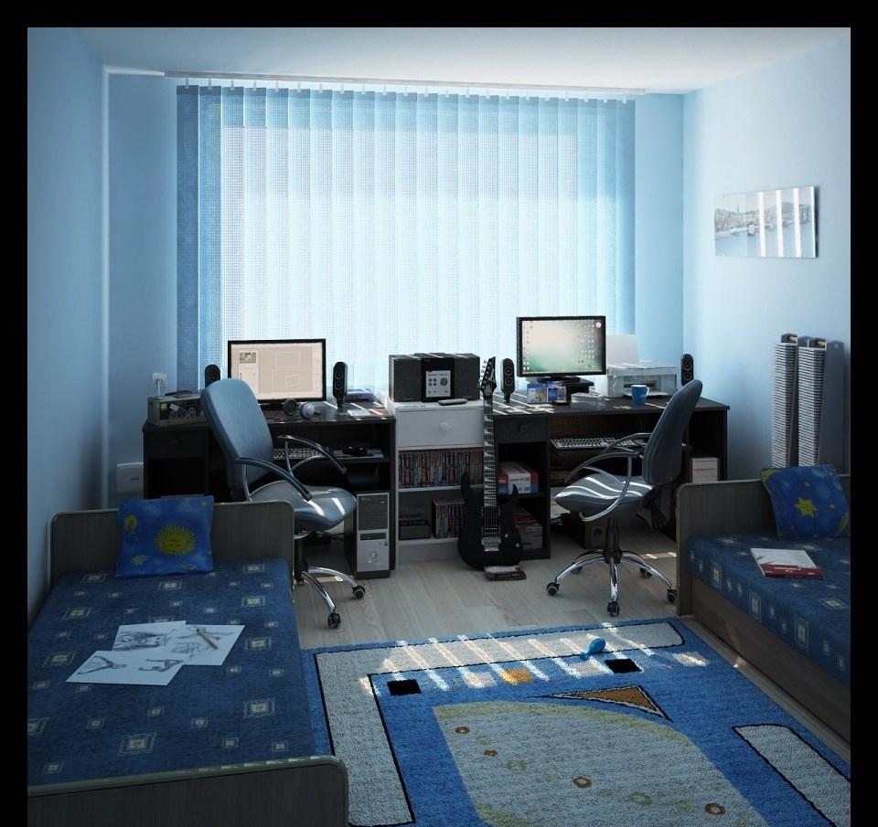 комната двух мальчиков школьников 2