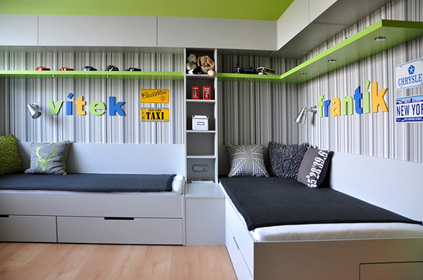 дизайн детской комнаты для мальчиков 4