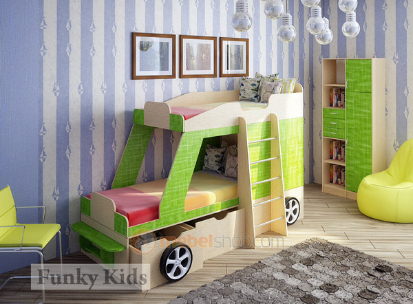 детская комната для двух мальчиков дошкольников