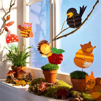 Осенние поделки и аппликации для дома, детского сада и школы 2