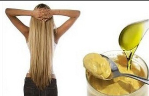 Маска против выпадения волос с горчицей