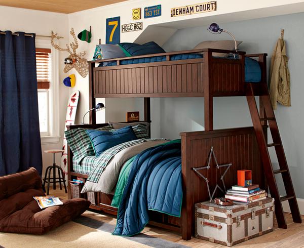 дизайн детской комнаты для двух мальчиков 5