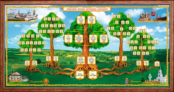 Как составить генеалогическое древо семьи: программы
