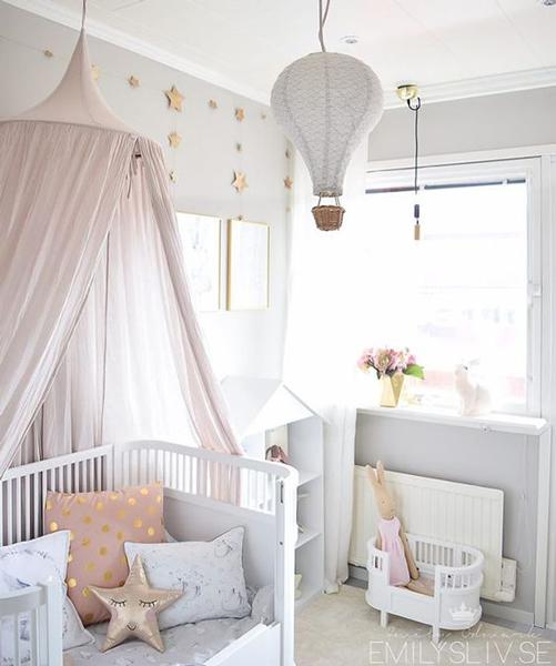 комната малыша в стиле Прованс