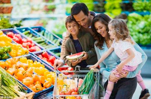 семейный поход за покупками