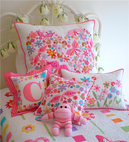 текстильный декор в комнате Прованс