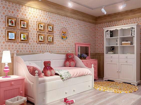 отличительные особенности стиля Прованс в детской 2