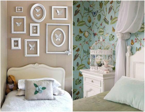 детали комнаты для девочки в стиле Прованс