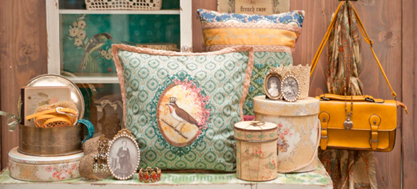 текстиль в комнате Прованс