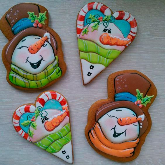 фото печенья с разноцветной глазурью
