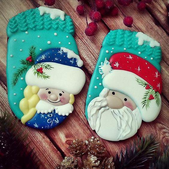 фото печенья в форме рукавиц
