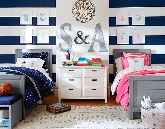 детская комната для двух разнополых детей 6