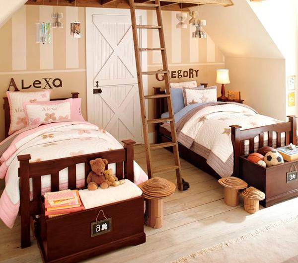 как обустроить комнату для двух детей