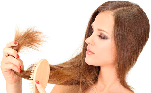 mask with a banana for dry ends of hair