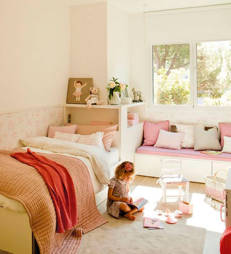 бежевая комната для ребенка 9