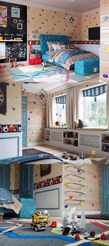 Как расставить мебель в детской комнате 3