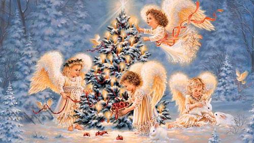 короткие колядки на Рождество для детей 2