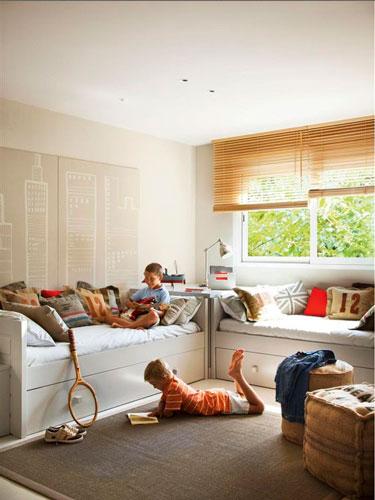 расположение мебели в комнате ребенка 3