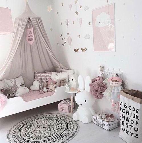 как интересно раставить мебель в детской комнате 4