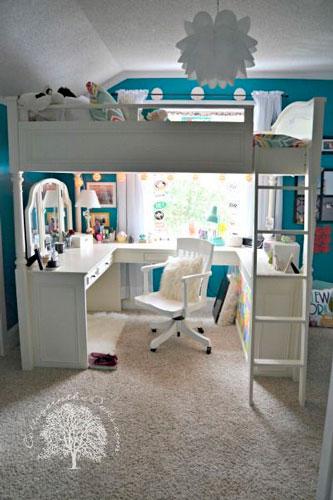 как расставить модульную мебель в детской комнате