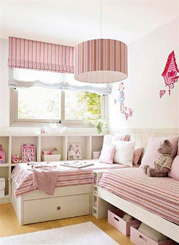 beige baby room for a little girl 2
