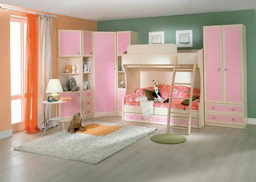 модульная мебель в детской комнате