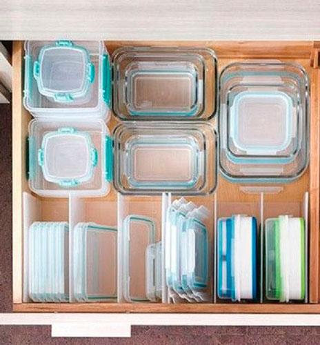 идея как навести порядок на маленькой кухне 2