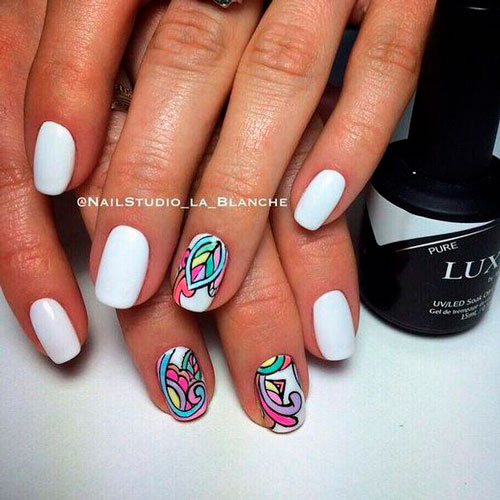 unusual nail design