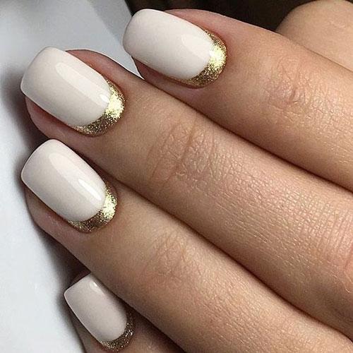 лунный дизайн ногтей