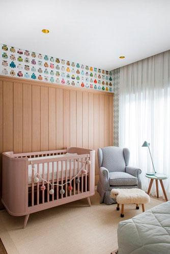 Бежевый цвет в интерьере детской комнаты 1