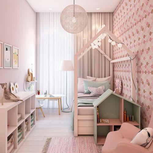 план расположения мебели в детской 3