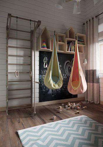 как расположить мебель в детской комнате: игровая зона