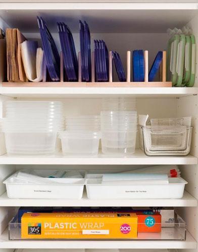 порядок на кухне: идеи хранения контейнеров