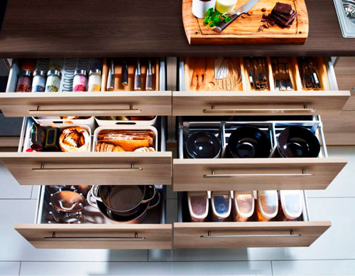 Порядок на кухне: хранение