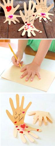 детская валентинка своими руками на 14 февраля 2